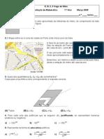 Ficha de Avaliação - Estatística