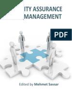 Quality Assurance Management i to 12