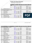 New York State Scholastic Championships 2013 Sunday May 12 All Results