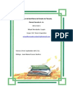 Secuencia Didáctica.- Biología I