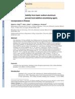 Aluminum Bioavailability From Basic Sodium Aluminum Phosphate