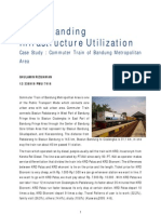 Understanding Infrastructure Utilization - Commuter Train of Bandung Metropolitan Case Study