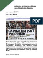 As consequências antidemocráticas da concentração de riqueza