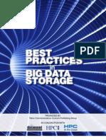 Best Practices in Big Data Storage