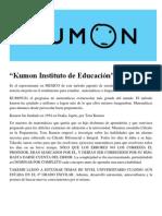 Kumon Instituto de Educación