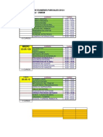 Cronograma Examenes 2012- i