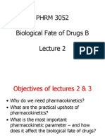 PHRM 3052 Week 1 - Clearence