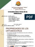 Ortomixovirus (Virus de La Influenza)