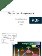 Lec #5 Discuss the Nitrogen Cycle.pptx