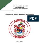 Protocolo de Leishmaniasis 2010 DISAN