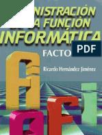 Administracion de La Funcion Informatica