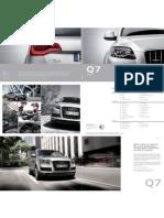 Audi Q7 Catalog (Germany, 2013)