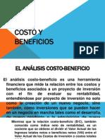 Costo y Beneficios
