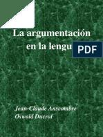 EG24 Argumentacion Lengua Anscombre-Ducrot