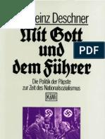 Karlheinz Deschner Mit Gott Und Dem Fuhrer