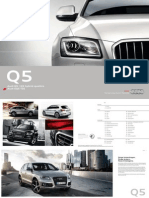 Audi Q5 and SQ5 Catalogue (Germany, 2013)