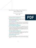 Using GLUT With VisualC++ 2008