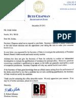 Alabama Response to Obama Identity Document Fraud Inquiry
