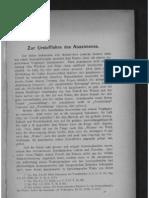 Dörfler Zur Urstofflehre des Anaximenes 1911