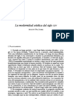 () Agustín Uña - La modernidad estética del siglo XIV