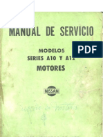 Motor A12 Datsun