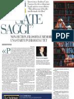 Mai Abbassare Il Livello Intellettuale Dei Libri. Intervista a Andrea Cane - La Repubblica 13.05.2013