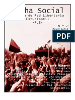 Revista Lucha Social 2  de Red Libertaria Estudiantil