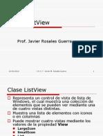 Clase ListView
