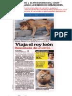 Funcionarios  y  EX funcionarios conap MIENTEN A MEDIOS COMUNICACIÓN. Enero 2012.