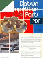Datsun Competition Parts