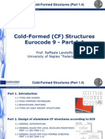 Cold Form Structures Eurocode 9 - Part 1.4