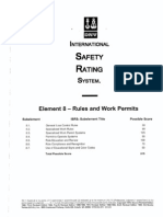 Element 8 Rules and Work Permit - Questions Marked