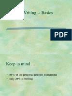 Proposal Writing A