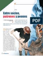 Cooperativas Mineras Entre Socios Patrones y Peones