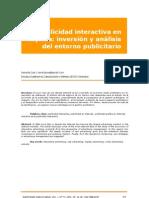 A2 La Publicidad Interactiva en Espana-Inversion y Analisis Del Entorno Publicitario