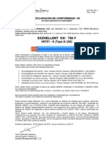 H07Z1-K  EXZHELLENT XXI 750V Declaraci�n Conformidad.pdf