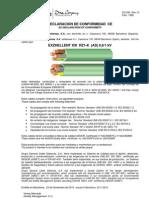 RZ1-K (AS) EXZHELLENT XXI 1000V Declaracion de conformidad.pdf