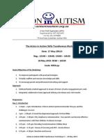 Skills Transference Workshop Programme 2013