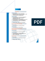 Programs List 2012