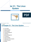 Ch21 the Linux System