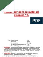 6.Picaturi Ptr Ochi Cu Saruri de Alcaloizi.sol.Oft.cu Vitamine, Colire Uleioase