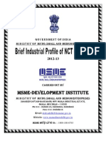 Brief Industrial Profile of Delhi