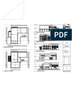 A05 Building B Ground and First Floor Plans, Elevations