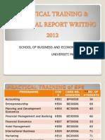 20120227 Practical Training. Slide Editing