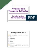 1. Paradigmas de La OO