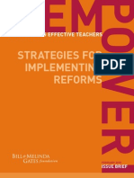 Empowering Effective Teachers Empowering Strategy