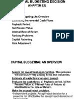 Capital-Budgeting in Finance