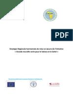 Stratégie Régionale harmonisée de mise en oeuvre de l'initiative « Grande muraille verte pour le Sahara et le Sahel »