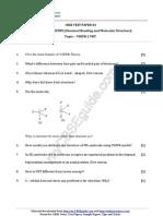 11 Chemistry Chemical Bonding Test Paper 04