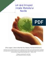 Neville Goddard Cum Sa Ti Intrupezi Dorintele Prelegeri Compilate de Joe Vitale